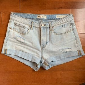 Pacsun Distressed Girlfriend Denim Shorts